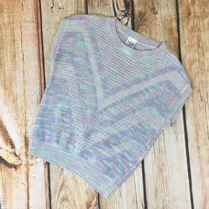 Vintage pastel sleeveless sweater